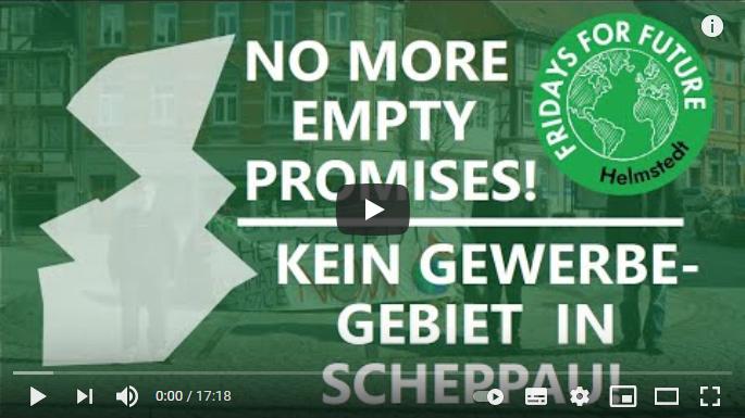 Video zum geplanten Gewerbegebiet Scheppau